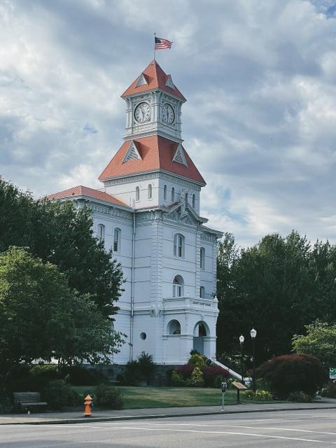 The Benton County Courthouse