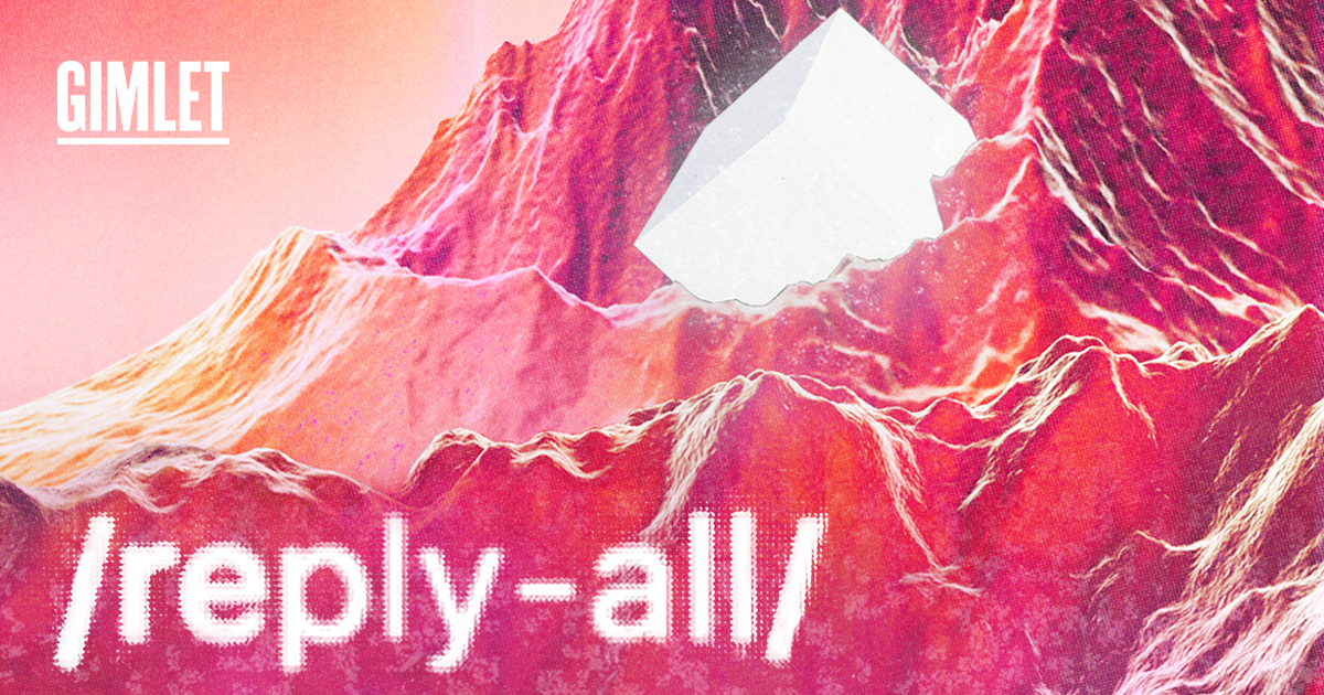 replay all podcast cover which is a space rave cube mountain