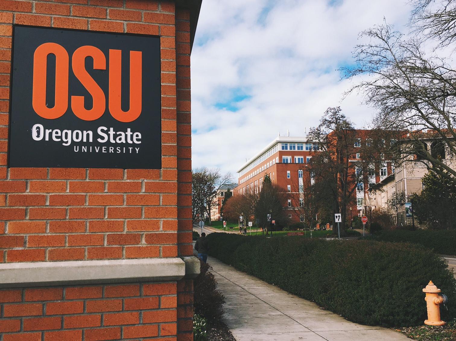 image: oregon state university sign